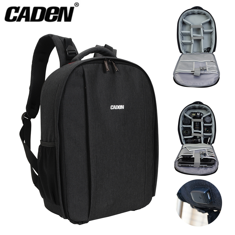 Carden D10 Watertight Cotton Camera Backpack of a Camera and 5 Lenses for Travel Vacation Business Trip and Outdoor Activity iris carden patchwork