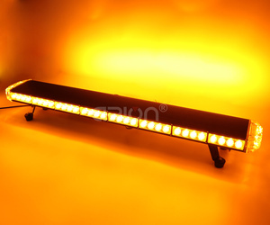 "Image 5 - 25"" to 55"" LED Led strobe flash warning light bar Car Trucks Beacons Safety emergency lights Lightbar Red Blue Amber White"