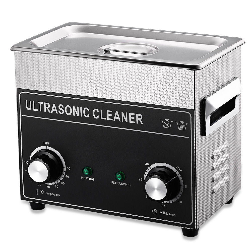 CJ-020 Ultrasonic Cleaner 3.2L Cleaning Machine Ultrasonic Cleaner Bath with Heater Timer Cleaning Jewelry False Tooth Glasses 2l professional ultrasonic cleaner digital ultrasonic cleaner machine with heater timer cleaning jewelry false tooth shaver