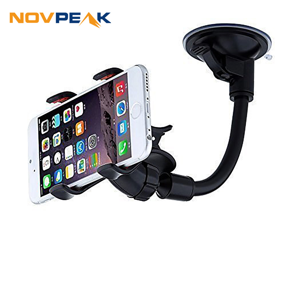 Car Phone Holder Universal, Flexible 360 Degree Adjustable
