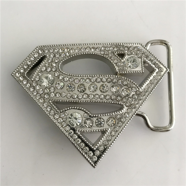 Retail 2018 New High Quality Superman Women s Belt Buckle for Metal Fashion  Woman Belt Jewelry accessories Fit 4cm Wide Belt 1a4f4ca054