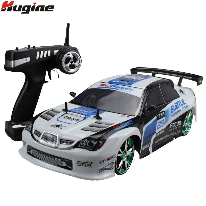 Grand RC Voiture 1:10 Haute Vitesse Voiture De Course Pour Sunaru Impreza/Toyota AE86 Championnat 2.4g 4WD Radio Contrôle sport Drift jouet