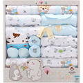 Fall and winter thicken newborn clothes Baby Clothes set Newborn Boys Girls Soft  Cotton suit 19pc baby clothing set jhyhj