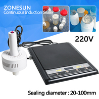 GLF 500F Microcomputer Hand Held Electromagnetic Induction Aluminum Foil Sealing Machine Continuous Induction Sealer