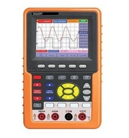 OWON 3 8 LCD Display Handheld Scopemeter Multimeter Cymometer Dual Digital Storage Oscilloscope Bandwidth 100MHz HDS3102M