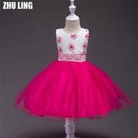 Aqua roze rood kerst partyToddler pagent tutu kids formele pagent heilige communie prom bloem meisjes bridsmaid jurk jurken