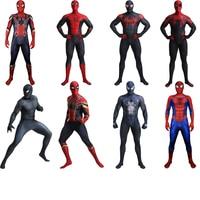 Adult Iron Spiderman Costume Spiderman Far From Home Costume Venom Costume Cosplay Halloween Superhero Costume Men Suit Jumpsuit