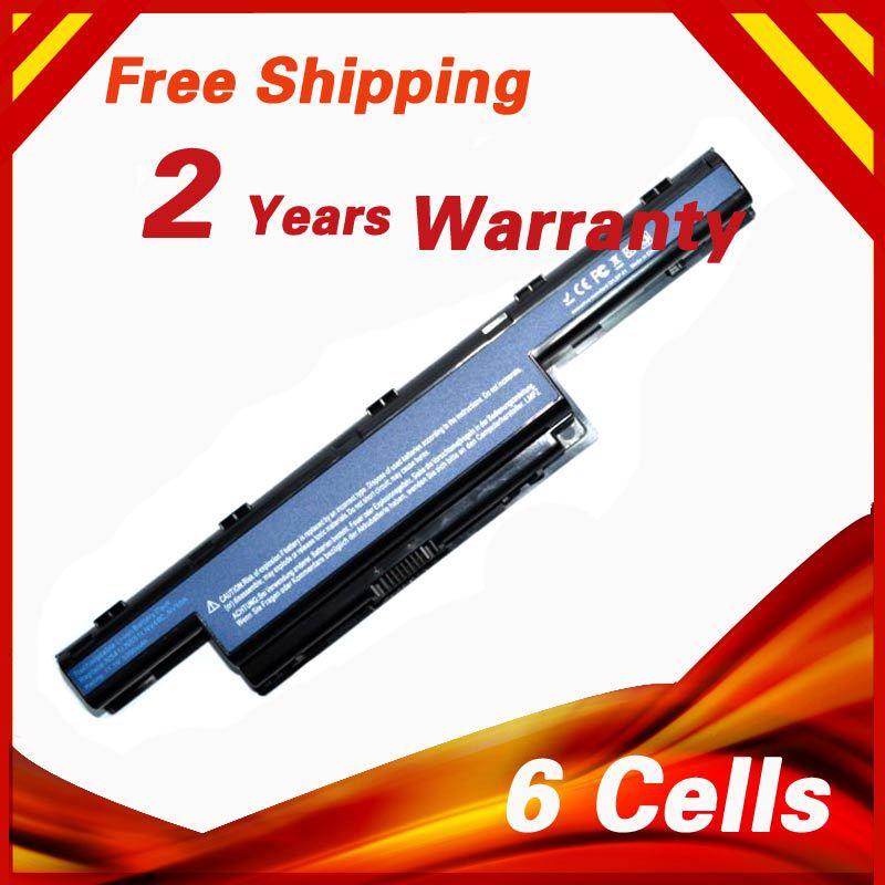 6 cells Laptop Battery For Acer 31CR19/652 AK.006BT.075 AS10D31 AS10D3E AS10D51 Aspire V3 E1 4741 4743 4749 4750 4752 4755 4771