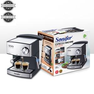 Image 5 - 1.6L אספרסו חשמלי קפה מכונת אקספרס חשמלי קצף מכונת קפה חשמלי חלב מקציף מטבח מכשירי חשמל 220V Sonifer