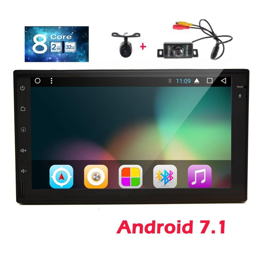 Eincar GPS Car Stereo With 7 Inch Android 7.1 Radio Stereo