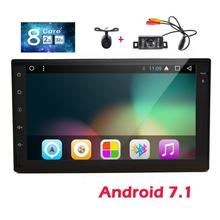 Eincar GPS Car Stereo with 7 inch Android 7.1 Radio Stereo in Dash GPS Navigation Front & Backup Cameras included