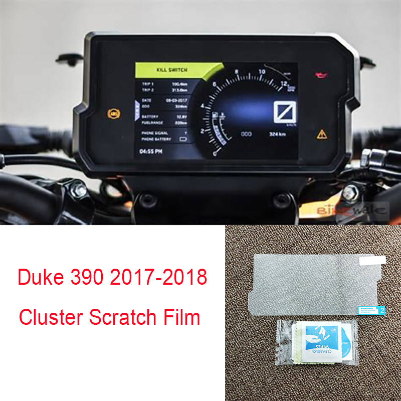 Motorcycle Speedometer Film Dashboard Instrument Meter Screen Protector Film Sticker Decal for KTM DUKE 690 R 2016-2017