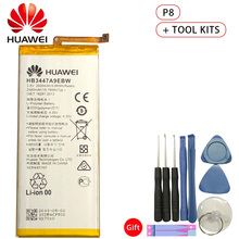 Hua Wei Original Battery HB3447A9EBW for Huawei Ascend P8 GRA-L09 GRA-UL00 GRA-UL10 2600mAh Li-ion with Tools Set