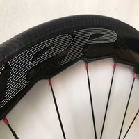 Best качество 58 мм углерода колесная Powerway R36 концентраторы с 25 мм широкий глянцевый велосипед углерода Колеса 700C Racing колеса Бесплатная достав