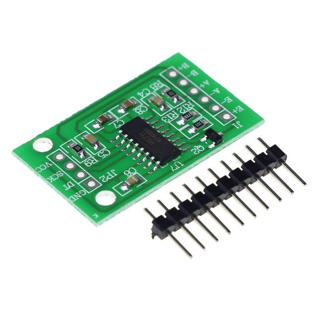 Dual Channel HX711 Weighing Pressure Sensor 24-bit Precision A/D Module