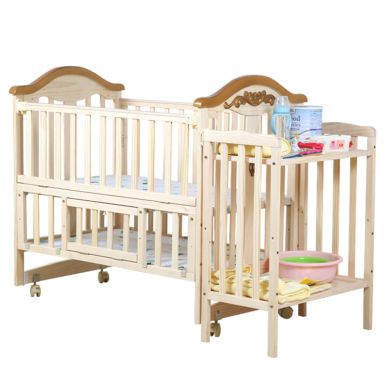 Solid wood lengthened baby crib multifunction pine child bed no-paint Eco-friendly newborn playpen game bed variable desk shanny vinyl custom photography backdrops prop graffiti&wall theme digital printed photo studio background graffiti jty 01 page 1