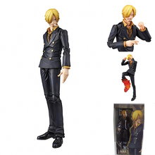 One Piece Variant Sanji Action Figure Super Variable Sanji Doll PVC Action Figure Collectible Model Toy 18cm KT3592