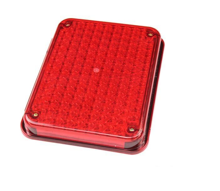 Cabine de police de sécurité équipement de trafic lumière d'avertissement stroboscopique cabine de police led lumière stroboscopique LTE-5018 rouge