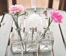 Free shipping French vintage tieyi zakka fresh hydroponic glass vase balcony windowsillxia decoration flower