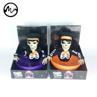 Minch Ghost Candy Bowl Hot Halloween Whole Skull Bone Electric Induction Skulls Candies Box