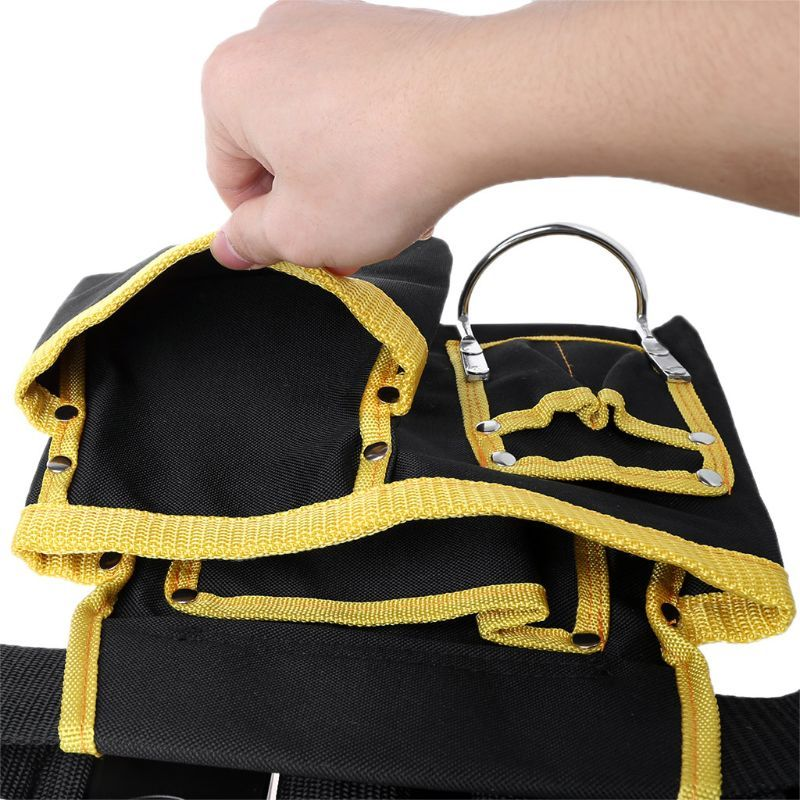 Multi-funcional eletricista ferramentas saco cintura bolsa cinto