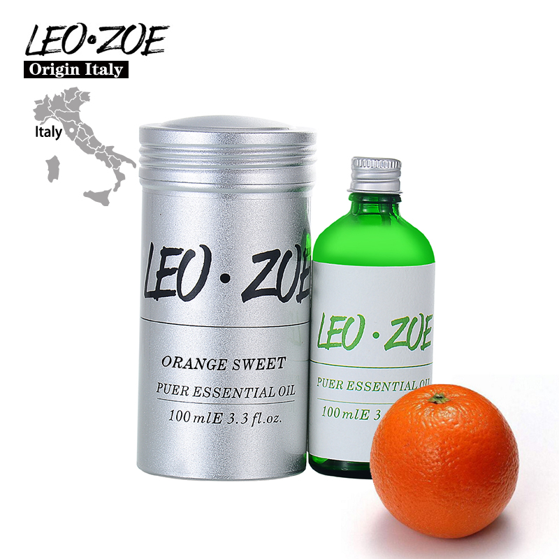 LEOZOE Orange Sweet Essential Oil Famous Brand LEOZOE Certificate Of Origin Italy Orange Sweet Oil 100ML Aceite Esencial free shipping door bolt house ornamentation door hardware locks stainless steel padlock latch thickened door latches