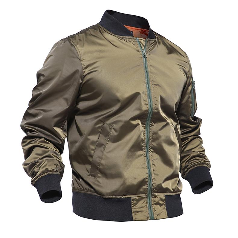 TACVASEN Men Spring Bomber Jacket Thin Autumn Army Military Jacket Army Pilot Air Force Jacket Tactical Jacket Coat TD-QZWY-001