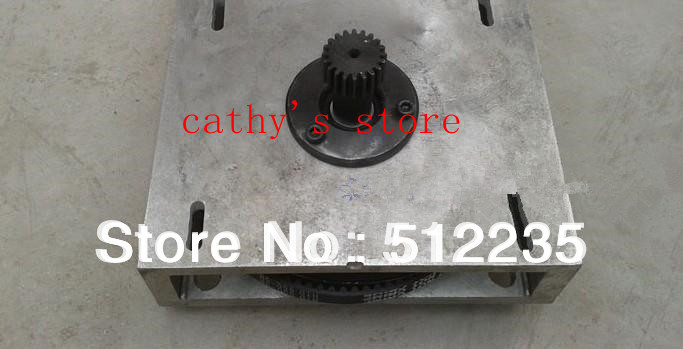 1.25 mod Engraving machine gear box gear housing support base Synchronous wheel assembly front gear box housing complete set drive