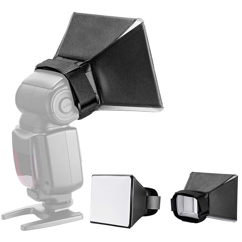 Universal Photo Difusor Flash Light Diffuser Softbox Softbox Boksen Voor Canon Nikon Sony Sigma Pentax Vivitar Camera