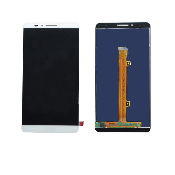 ФОТО Free Shipping Original White For Huawei Mate7 LCD Display Screen + Touch Screen Digiziter For Huawei Mate 7 Smartphone + Tools