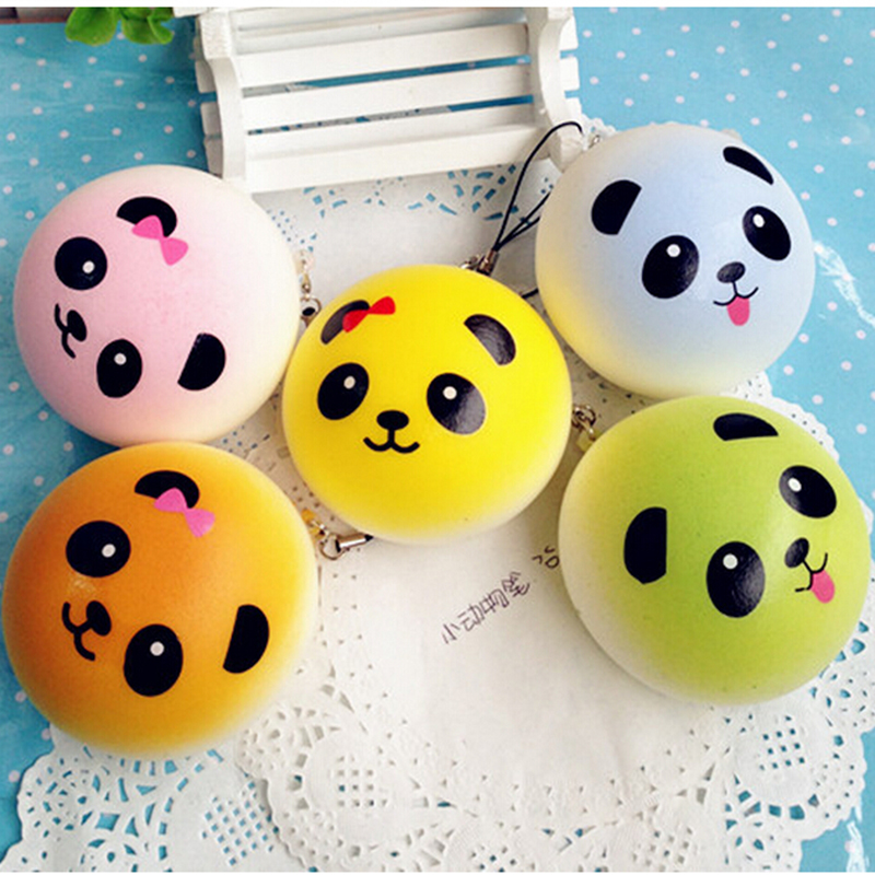 Novelty Gag Toys Antistress Slow Rising Panda Squeeze Stress Relief Entertainment Fun Gadget For Phone