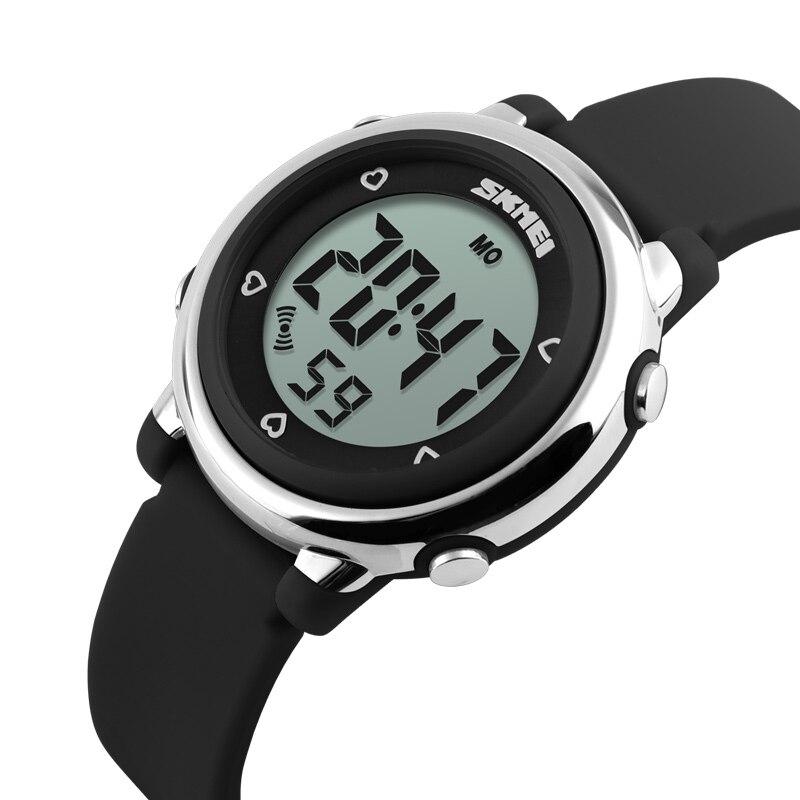 2016 SKMEI Children LED Digital Watch Relogio Feminino Sports Watches Kids Cartoon Jelly Relojes Mujer Waterproof Wristwatches