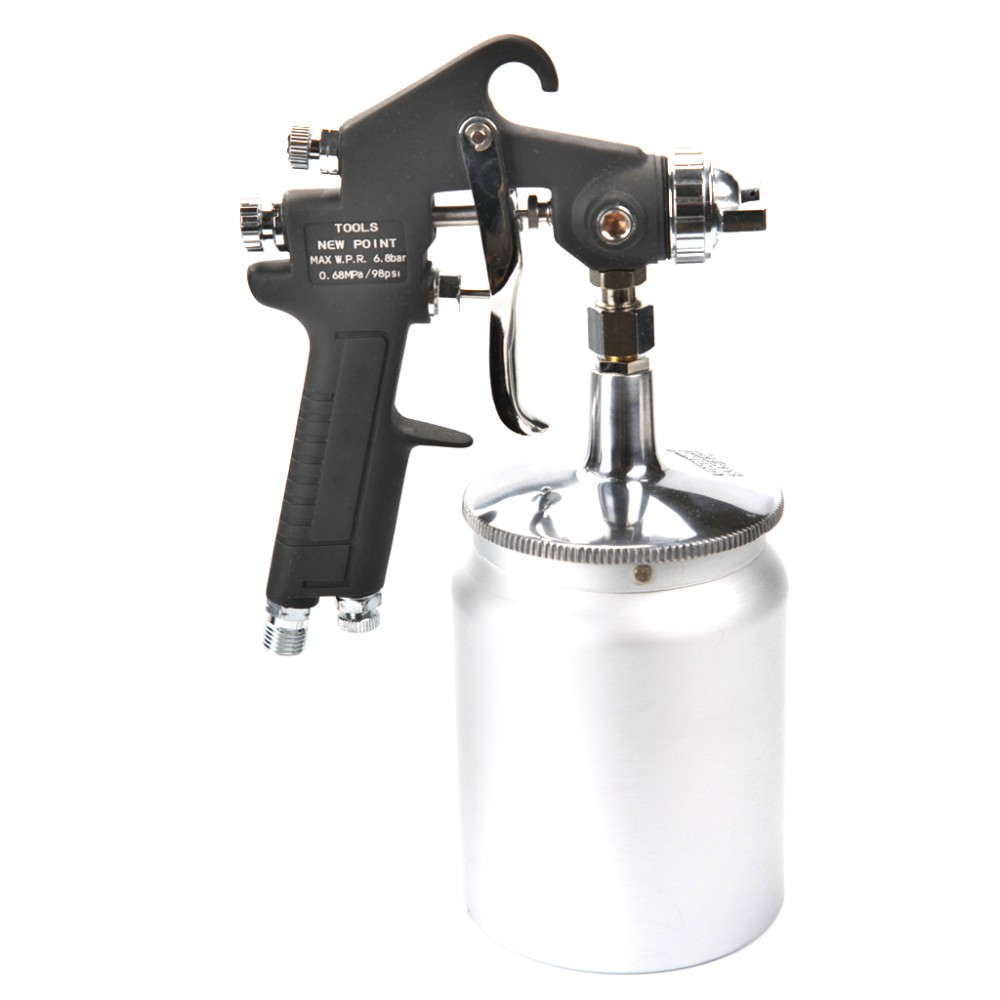 ФОТО Valiantoin W-71-S Professional Siphon Feed HVLP Air Paint Spray Gun Mini Air Paint Sprayer Airbrush For Painting Car Aerograph