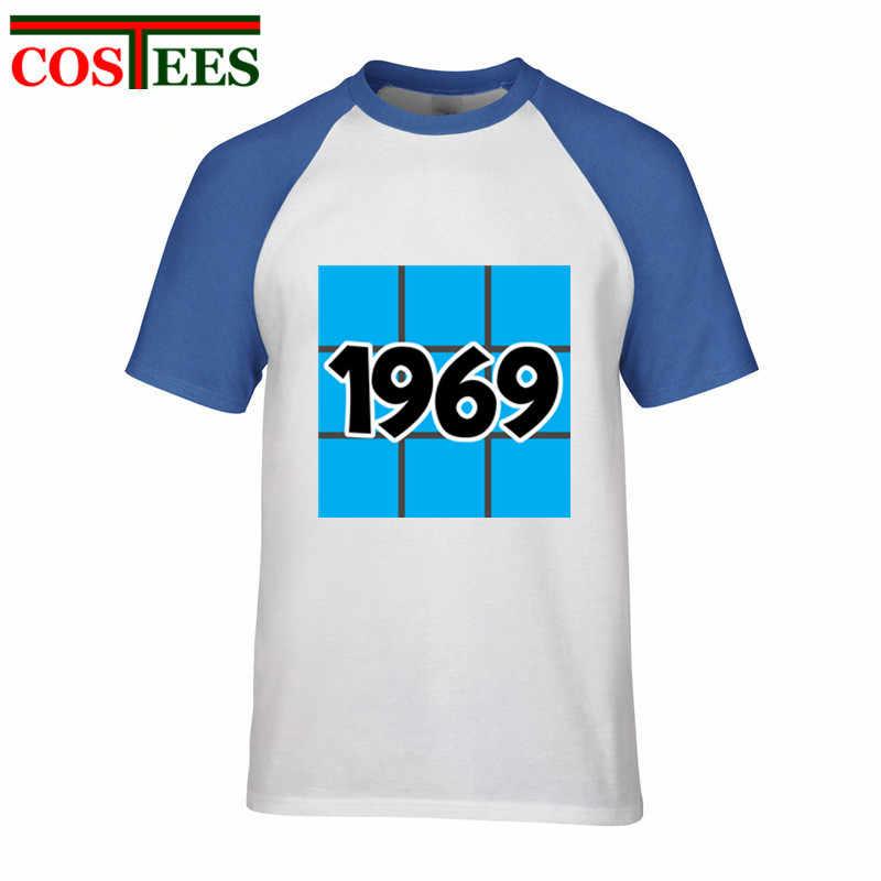 古いレトロスタイル 1969 tシャツ男性ヴィンテージ 1969 誕生日ギフト Tシャツ 2018 ニュークラシック感謝祭父の日お父さん仲間 tシャツ