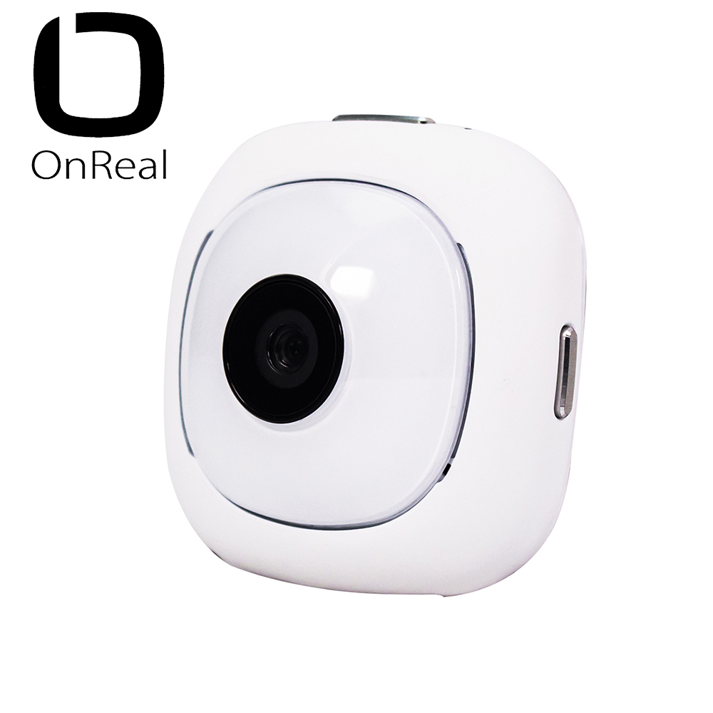 OnReal Action Camera Mini Size Outdoor Activities Sports Camera 1080P Black Wifi Innovation Cam Compatible with IOS/Android f88 action camera black