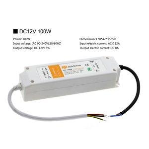 Image 2 - Led照明トランスフォーマーDC12V 18ワット36ワット72ワット100ワット高品質安全ドライバledストリップ電源供給