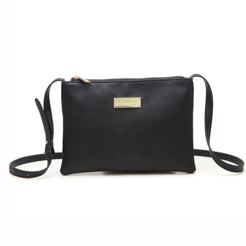 DAUNAVIA Luxury mood käekotid puhas värvi kott Disainer Nahast - Käekotid - Foto 1