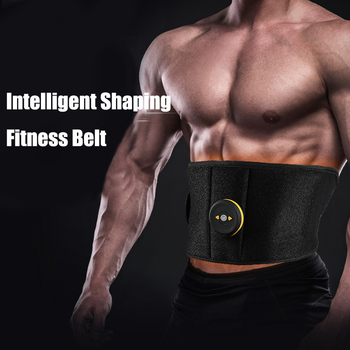 Vibration EMS Wireless Muscle Stimulator Trainer Abdominal Muscle Exerciser Weight Loss Body Slimming Belt Fat Burning Massager wireless abdominal muscle stimulator ems stimulation body slimming weight loss muscle exerciser for abdomen arm training