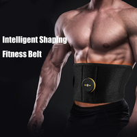 Vibration EMS Wireless Muscle Stimulator Trainer Abdominal Muscle Exerciser Weight Loss Body Slimming Belt Fat Burning Massager