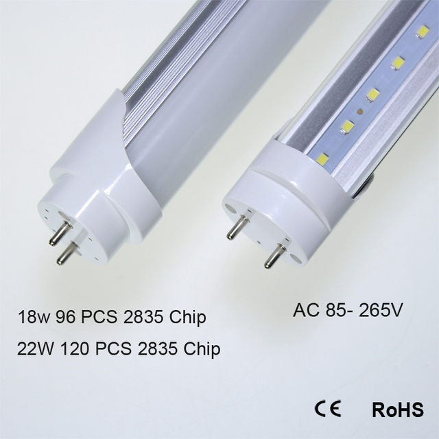 90 Pcs Led Tube T8 600mm 900mm 1200mm High Power Led Tube Light Lamp Home  2ft