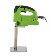 Cortador de corte de esponja de espuma de goma profesional eléctrica máquina de la sierra de mano sierra eléctrica cortador de esponja