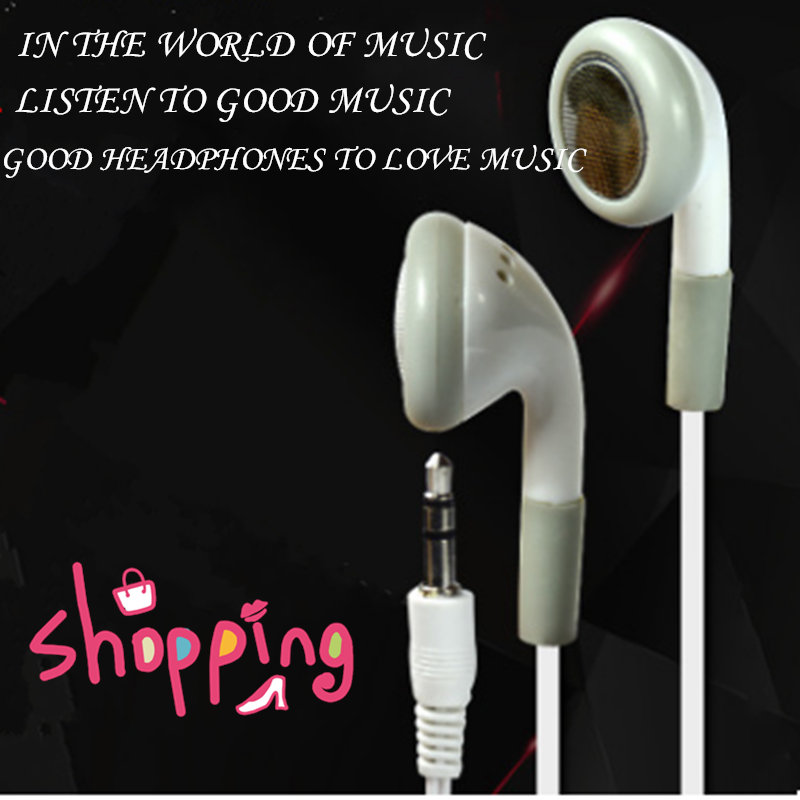 Universe In-Ear White Earbud Headset White Earphone Headphone 3.5mm For Mp3 PC