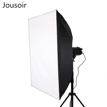Photographic equipment bao rong kaguo universal studio lamp soft light box grain material 60X90 square soft light box CD50