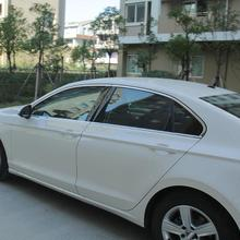 Car Rear Panels Window Door Exterior Excent Chromium Decorative Decoration Mouldings Covers Trim 17 18 19 FOR Volkswagen Lamando