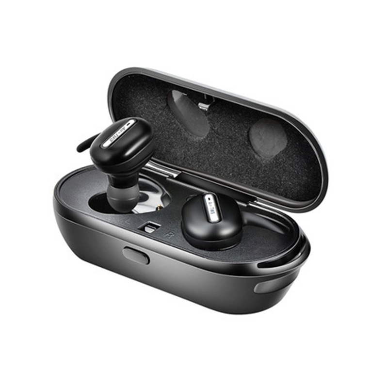 TWS Mini Wireless Headphones Bluetooth Headset 3D Stereo Hands-free Noise Reduction Bluetooth Earphone With Charging Box 2017 scomas i7 mini bluetooth earbud wireless invisible headphones headset with mic stereo bluetooth earphone for iphone android