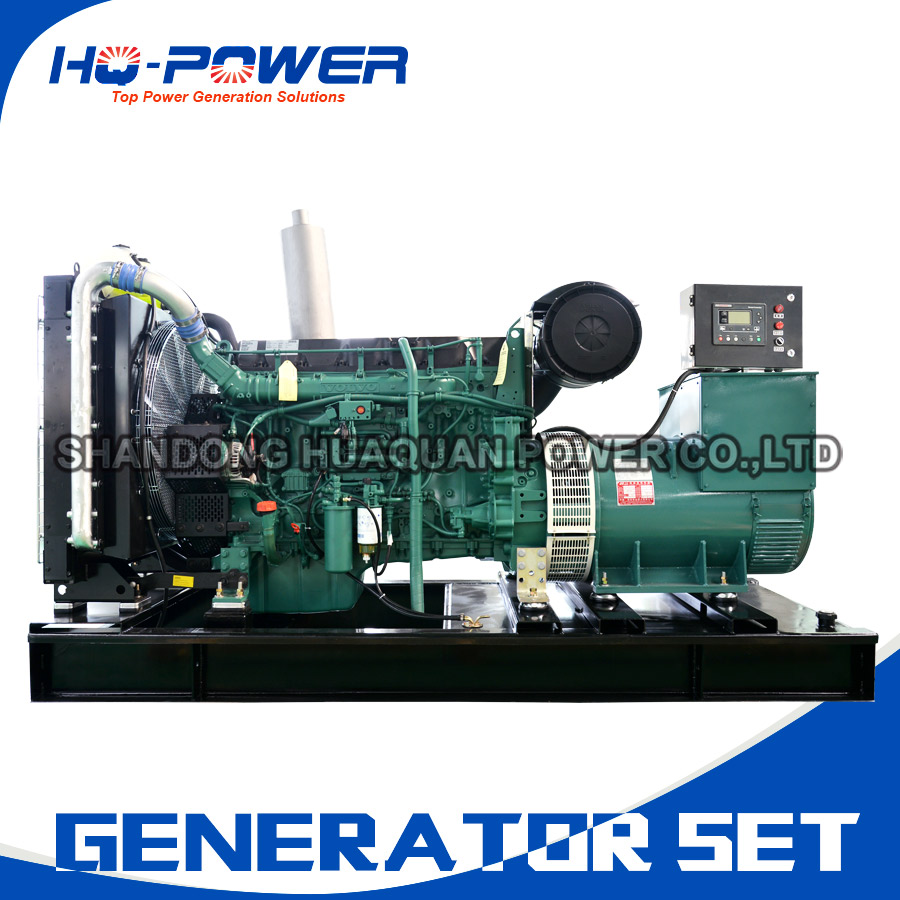 permanent magnet diesel generator 320kw TAD1344GE volvo generador