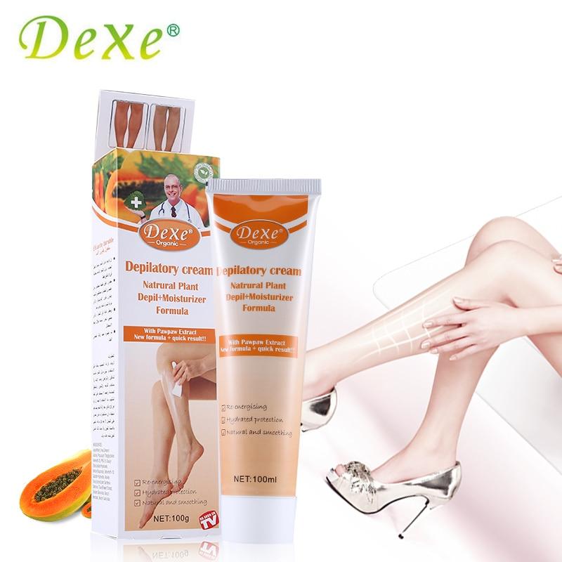 Dexe Brand Lemon Magic Clean Perfumed Hair Removing Cream For Women Hair Removal Epilator Depilatory Cream Painless Body Care
