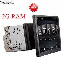 Youmecity 10 pouce écran Octa core 2 din android 7.1 universel voiture Radio Double DVD GPS Navigation Au tableau de bord PC Stéréo vidéo wifi