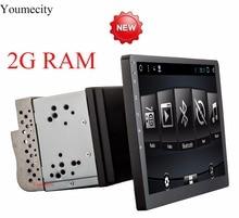Youmecity pantalla Octa core de 10 pulgadas 2 din android 7.1 universal Radio de coche Doble DVD de Navegación GPS En el tablero de PC de vídeo Estéreo wifi