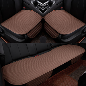 Image 5 - Car Seat Cover Pad Styling Auto seat Front Rear Cushion Front Back Auto Seat Covers Black Automobiles Seat Cushion